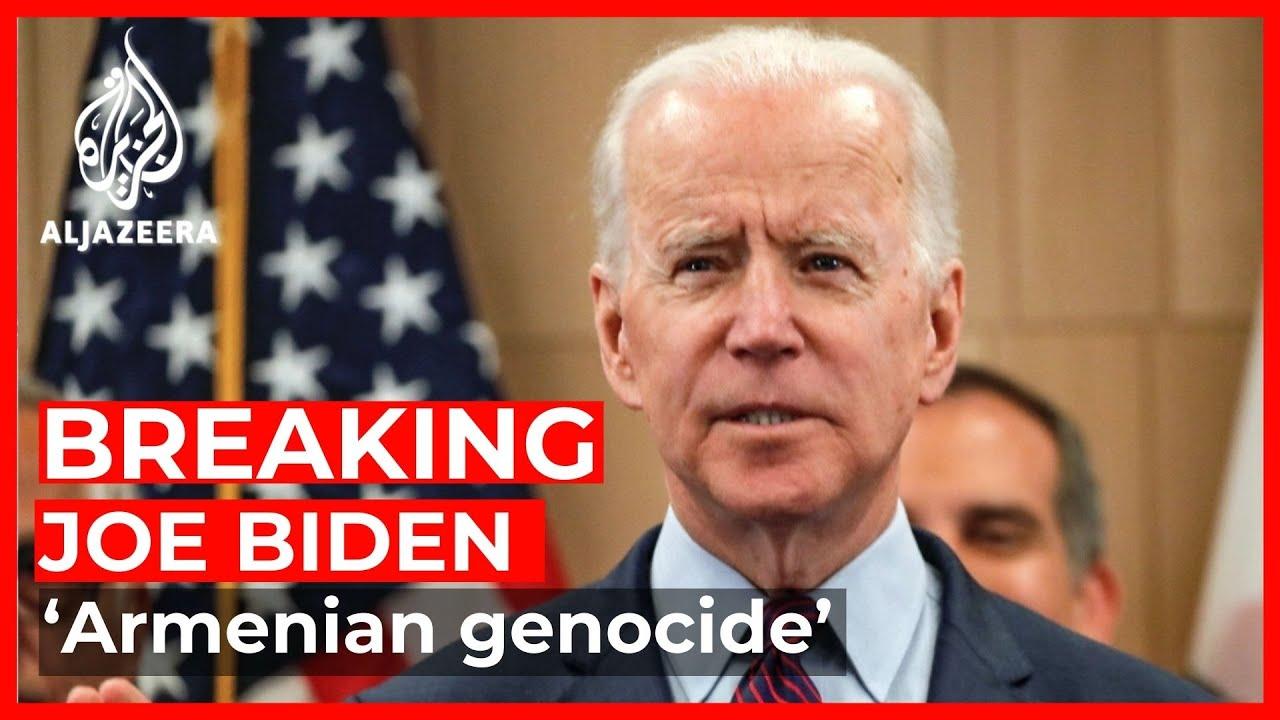 Ο Μπάιντεν είπε ότι η Τουρκία διέπραξε μαζικό έγκλημα κατά της ανθρωπότητας