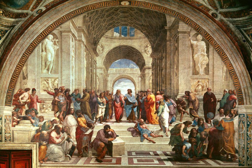 Ο Ραφαήλ και η «Σχολή των Αθηνών»