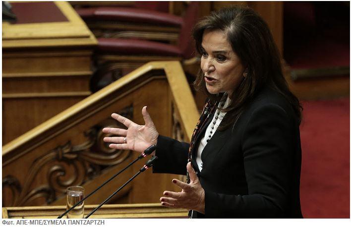 Μετά τις αντιδράσεις η Ντόρα Μπακογιάννη ακύρωσε τη συμμετοχή της στο «Antalya Dimplomacy Forum»