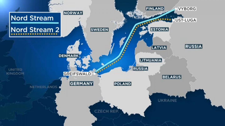 Η Ρωσία ολοκληρώνει τον αγωγό Nord Stream 2, ξεπερνώντας τις κυρώσεις των ΗΠΑ
