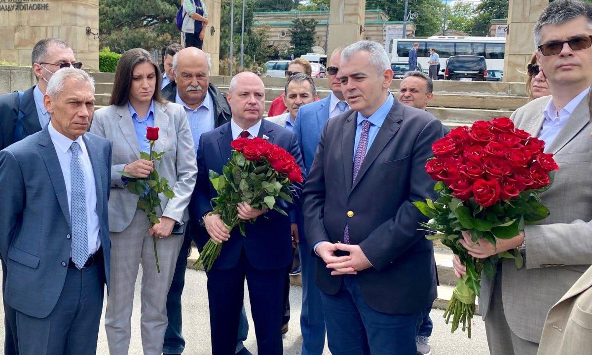 Μ.Χαρακόπουλος από Βελιγράδι, Στενοί οι δεσμοί του ελληνικού με τον σερβικό λαό!