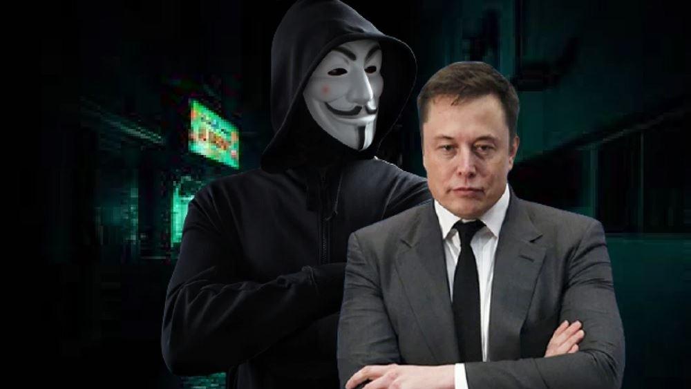 Όντως οι Anonymous απείλησαν τον Έλον Μασκ με αφορμή τα tweets του για το bitcoin;