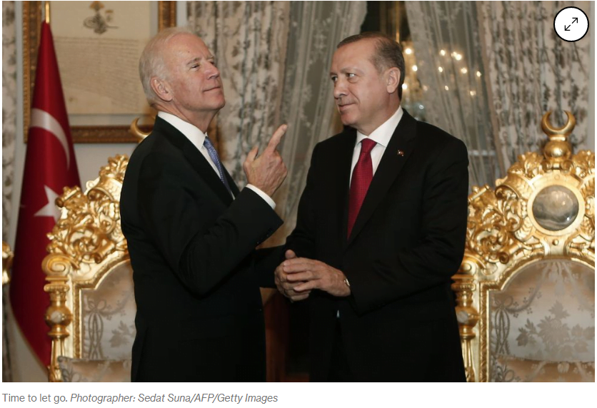 "Editorial του Bloomberg λίγες ώρες πριν τη συνάντηση: ""Μπάιντεν, κόψε τον Γόρδιο Δεσμό με την Τουρκία"""