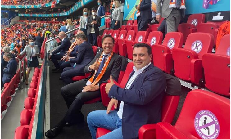 Χοντρό δούλεμα από τον Ζ. Ζάεφ: Δίνω την ισχυρή μου υποστήριξη στην εθνική ομάδα της «Μακεδονίας»