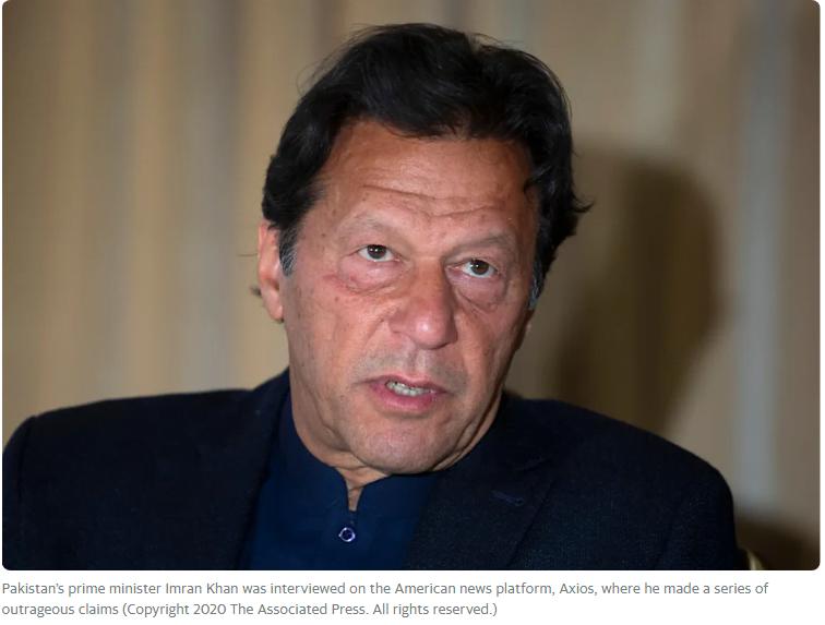 Πρωθυπουργός του Πακιστάν: Οι γυναίκες που φοράνε λίγα ρούχα προκαλούν τους άντρες που τις βιάζουν
