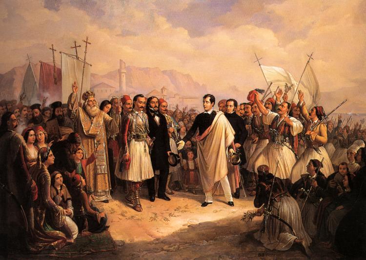Η Ελληνική Επανάσταση και οι Άγγλοι Φιλέλληνες