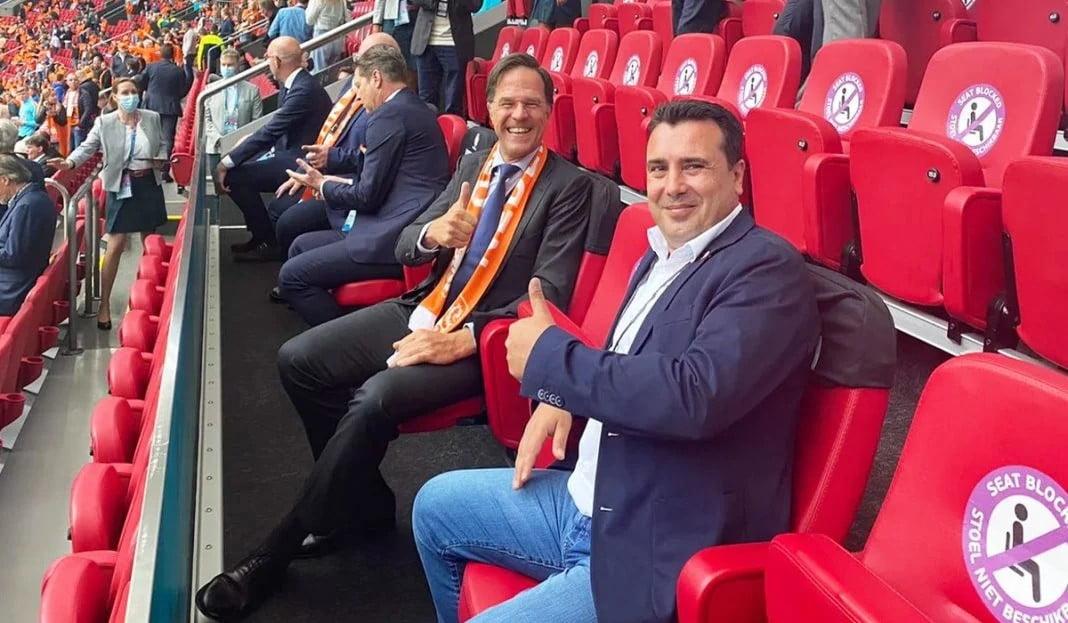 Τώρα που οι Σκοπιανοί αποκλείστηκαν από το Euro «θυμήθηκε» ο Ζάεφ να ζητήσει την αλλαγή στο έμβλημα της εθνικής ποδοσφαίρου!