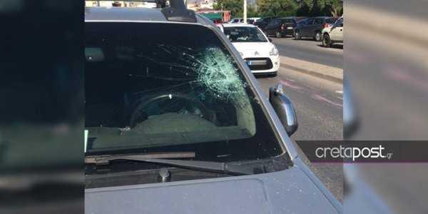 Χαμός στην Κρήτη: Πέτρες και μπογιές κατά αστυνομικών που εμπόδισαν κορονοπάρτι