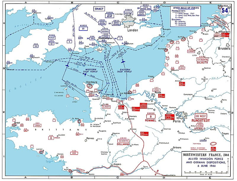 D-Day: Η αρχή του τέλους για τους Ναζί «ξεκίνησε» από τις γαλλικές ακτές