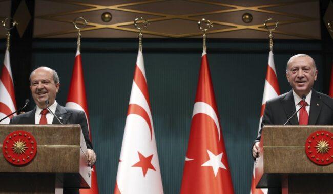 Η Τουρκία θέλει να ελέγξει ολόκληρη την Κύπρο