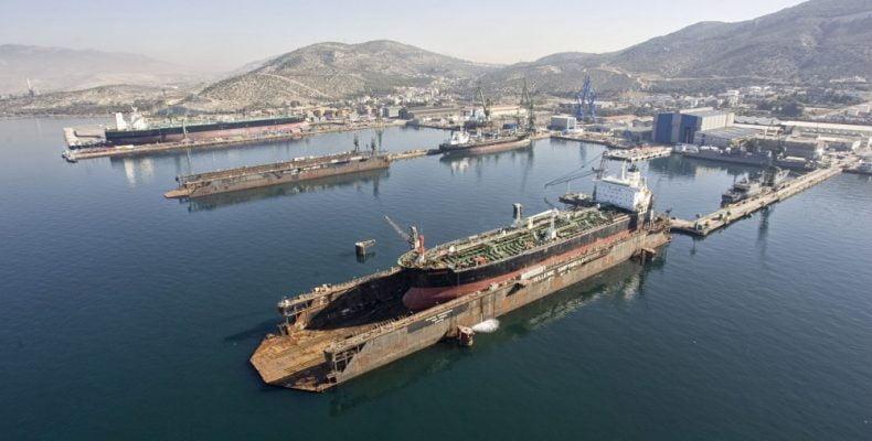 Οι εξελίξεις στα ναυπηγεία Σκαραμαγκά αλλάζουν τα δεδομένα και για τα ναυπηγεία Ελευσίνας