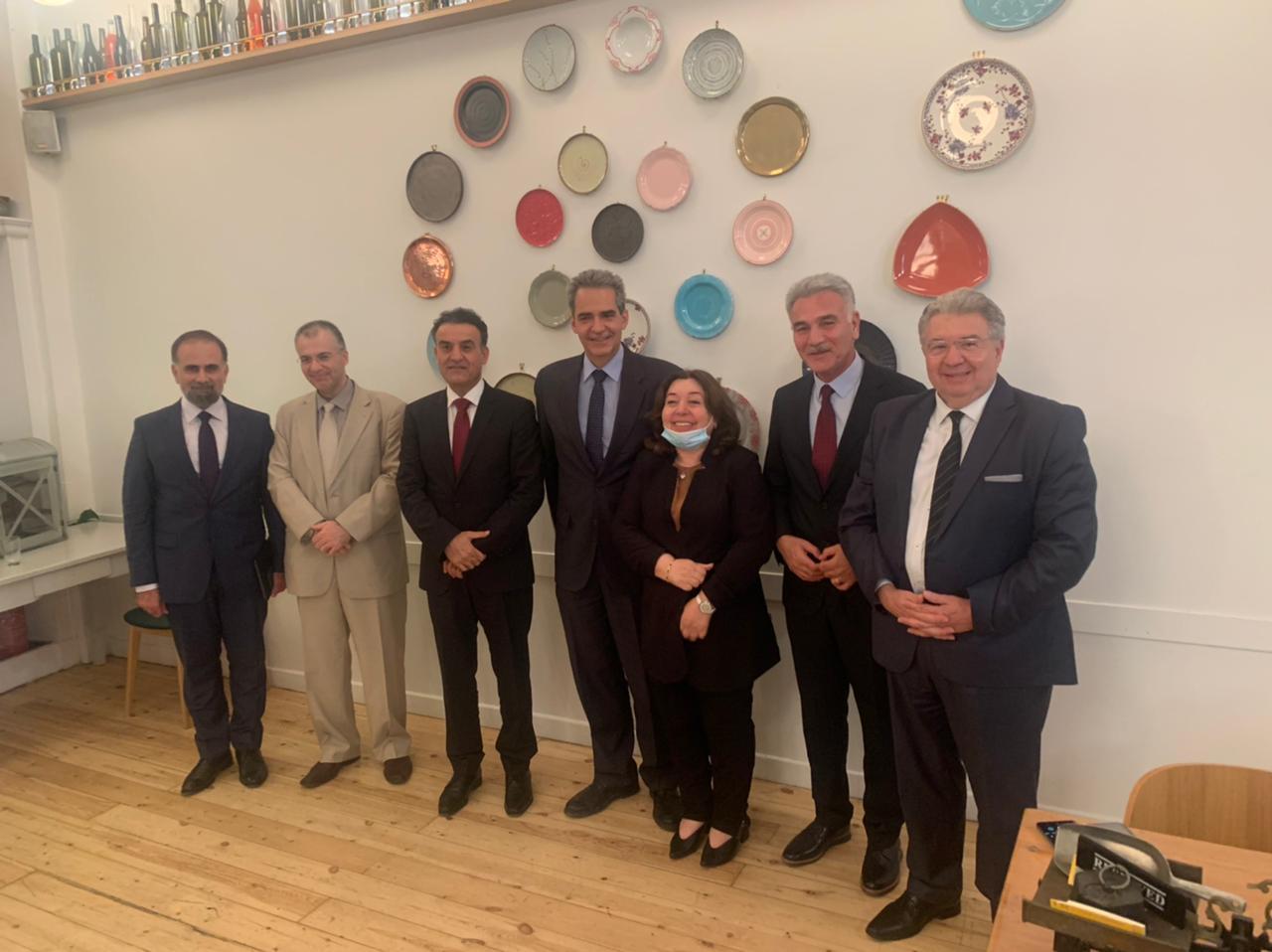 Ο Υπουργός Παιδείας του Κουρδιστάν σε επίσημη επίσκεψη στην Ελλάδα