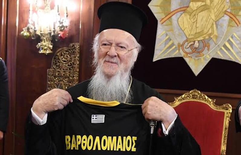 Ο Οικουμενικός Πατριάρχης Βαρθολομαίος ευλόγησε τη νέα διοίκηση του Πέρα Κλουμπ