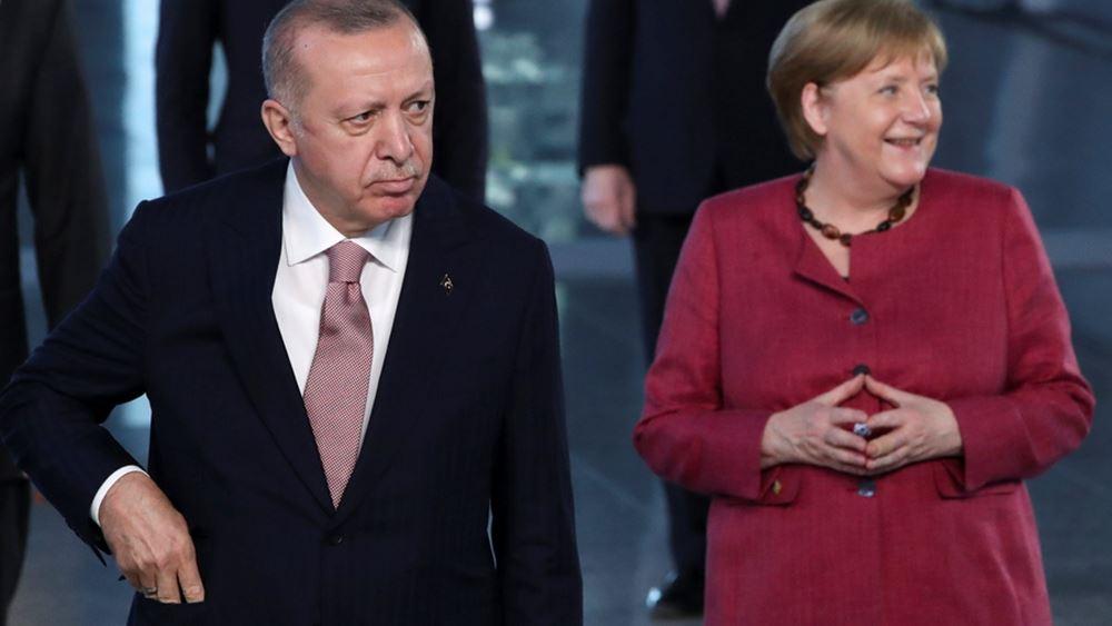 """Το τελευταίο """"δώρο"""" της Μέρκελ στον Ερντογάν"""