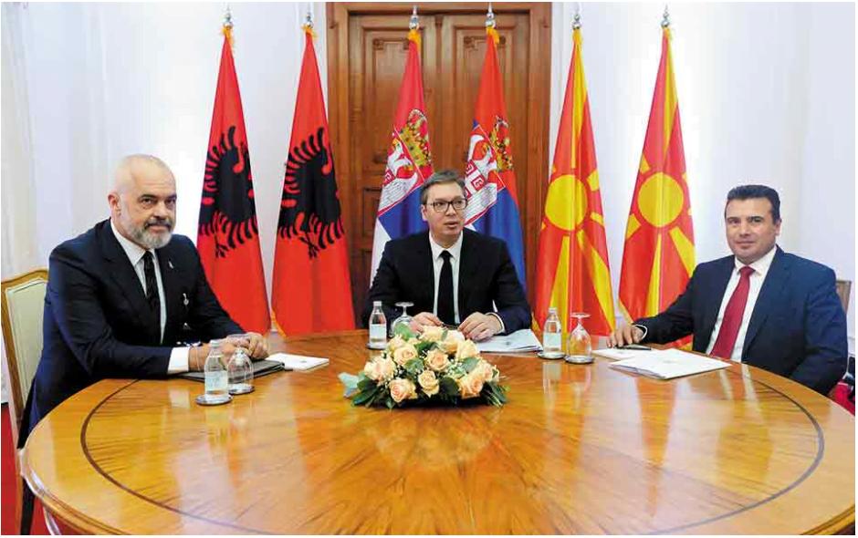 Μίνι Σένγκεν στα Δυτικά Βαλκάνια – Ελεύθερη διακίνηση πολιτών μεταξύ Σερβίας – Αλβανίας – Σκοπίων