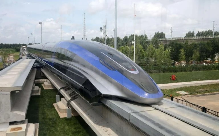 Tο πιο γρήγορο τραίνο στον κόσμο είναι στην Κίνα(βίντεο)