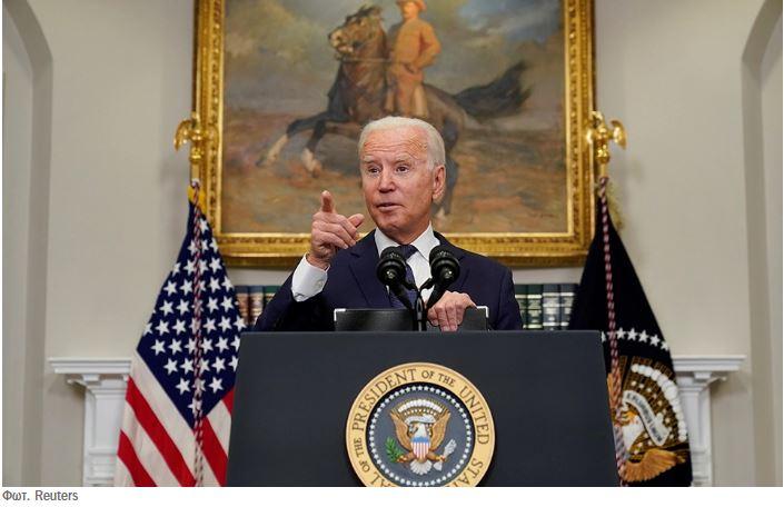 Ο Μπάιντεν υπόσχεται ασφαλή απομάκρυνση Αμερικανών και ευάλωτων Αφγανών
