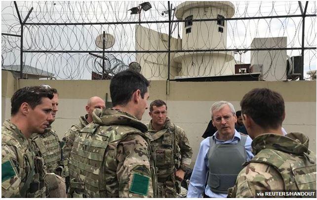 Η Βρετανία θα απομακρύνει άμεσα 6.000 ανθρώπους από το Αφγανιστάν