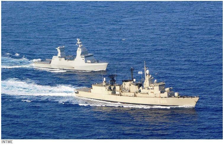 Πολεμικό ναυτικό: Συνεκπαίδευση Ελλάδας – Ισραήλ βορειοδυτικά της Κρήτης