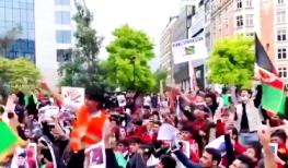 Αφγανοί διαμαρτύρονται κατά των Ταλιμπάν στις Βρυξέλλες….