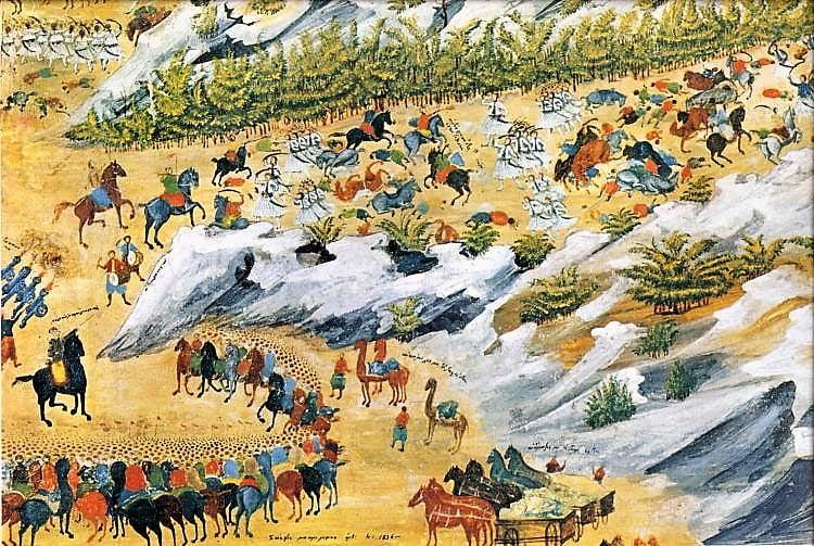 26 Αυγούστου 1821: Η μάχη των Βασιλικών. Οι επαναστάτες συντρίβουν τη στρατιά του Μπεϋράν πασά στη Φθιώτιδα