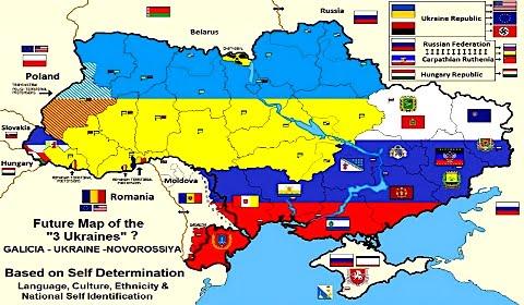 Η διάσπαση της Ουκρανίας είναι αναπόφευκτη υπό το φως της ιστορίας
