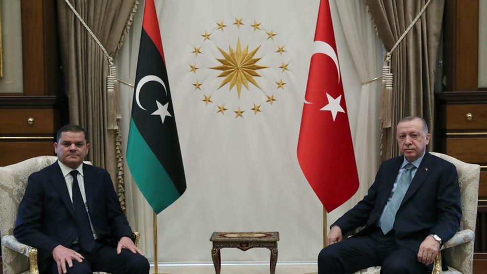 """Ο Ερντογάν """"ψάχνει"""" άμεση καταβολή 1,1 δισ. δολαρίων από τη Λιβύη"""