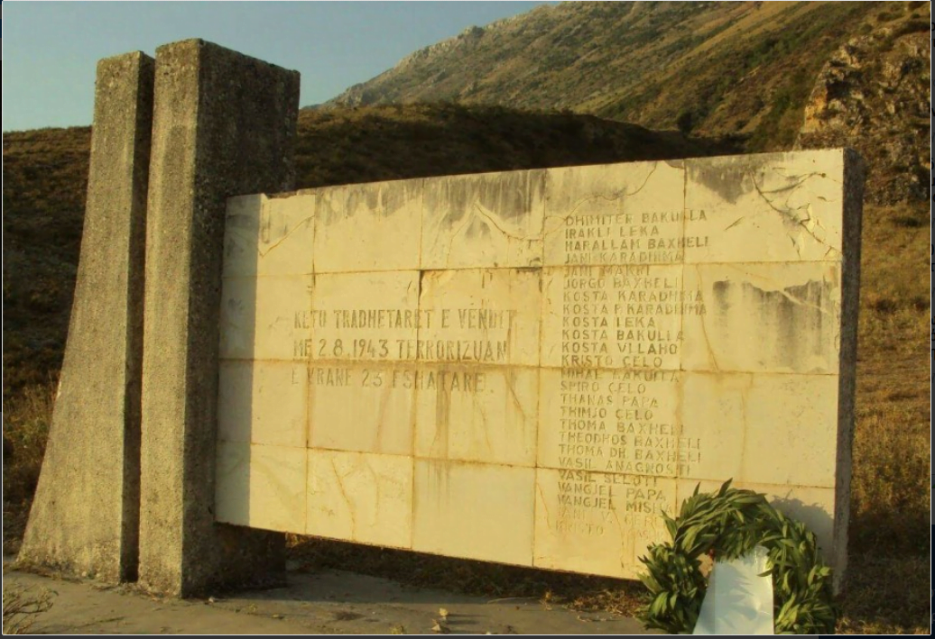 2 Αυγούστου 1943 η σφαγή 27 Βορειοηπειρωτών στην Γλύνα