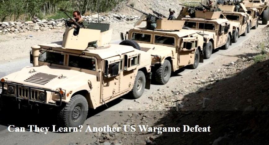 Αμερικανικά πολεμικά παιχνίδια προσομοίωσης που συνεχώς προβλέπουν ήττα, θα μπορέσουν κάποτε να διδάξουν;