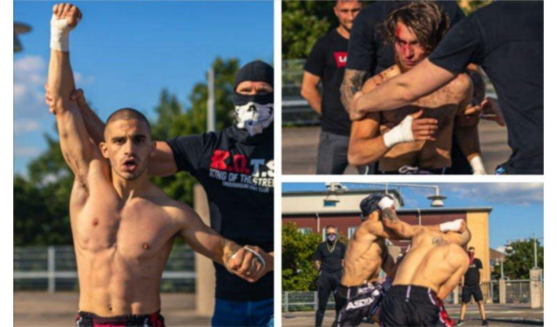 Πάντα τέτοια! Ισοπέδωσε τον Τούρκο 'Sercan' ο Κύπριος μαχητής Ανδρέας Αδαμίδης σε αλάνα με γυμνά χέρια! (φωτό)