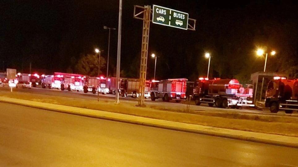 Βοήθεια για την κατάσβεση των πυρκαγιών στην Ελλάδα: Πέρασαν τα σύνορα τα πυροσβεστικά από την Ρουμανία