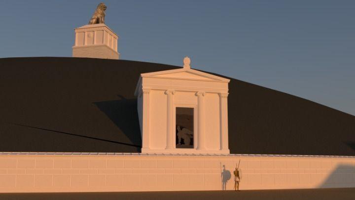 Σέρρες -Αμφίπολη: Δείτε πώς θα διαμορφωθεί εξωτερικά και εσωτερικά το ταφικό μνημείο στον τύμβο Καστά (ΒΙΝΤΕΟ)