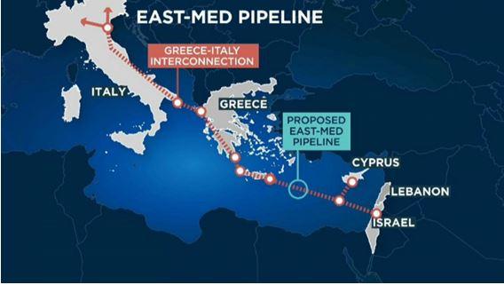 Ένταση στην Αν. Μεσόγειο λόγω EastMed