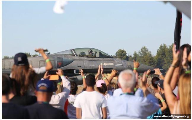 Από αύριο η Athens Flying Week 2021 – Στην Τανάγρα γαλλικό Rafale και ελληνικό Spitfire