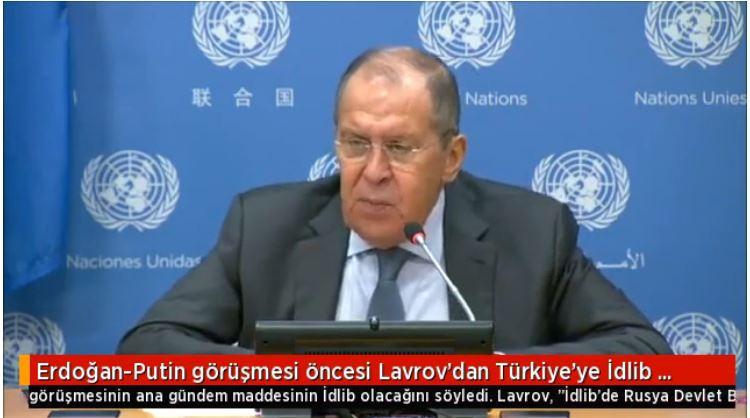 Βολές Λαβρόφ κατά Τουρκίας για το Ιντλίμπ