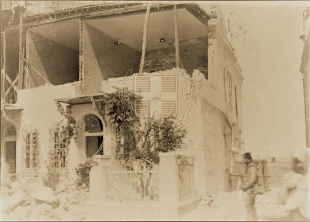 Το 1912, τότε που ισοπεδώθηκε η Ανατολική Θράκη από φοβερό σεισμό