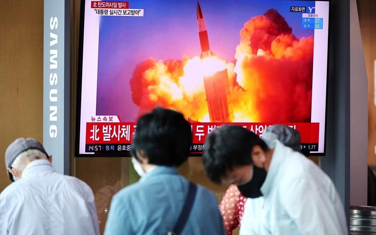 Νέα εκτόξευση πυραύλου από τη Β. Κορέα