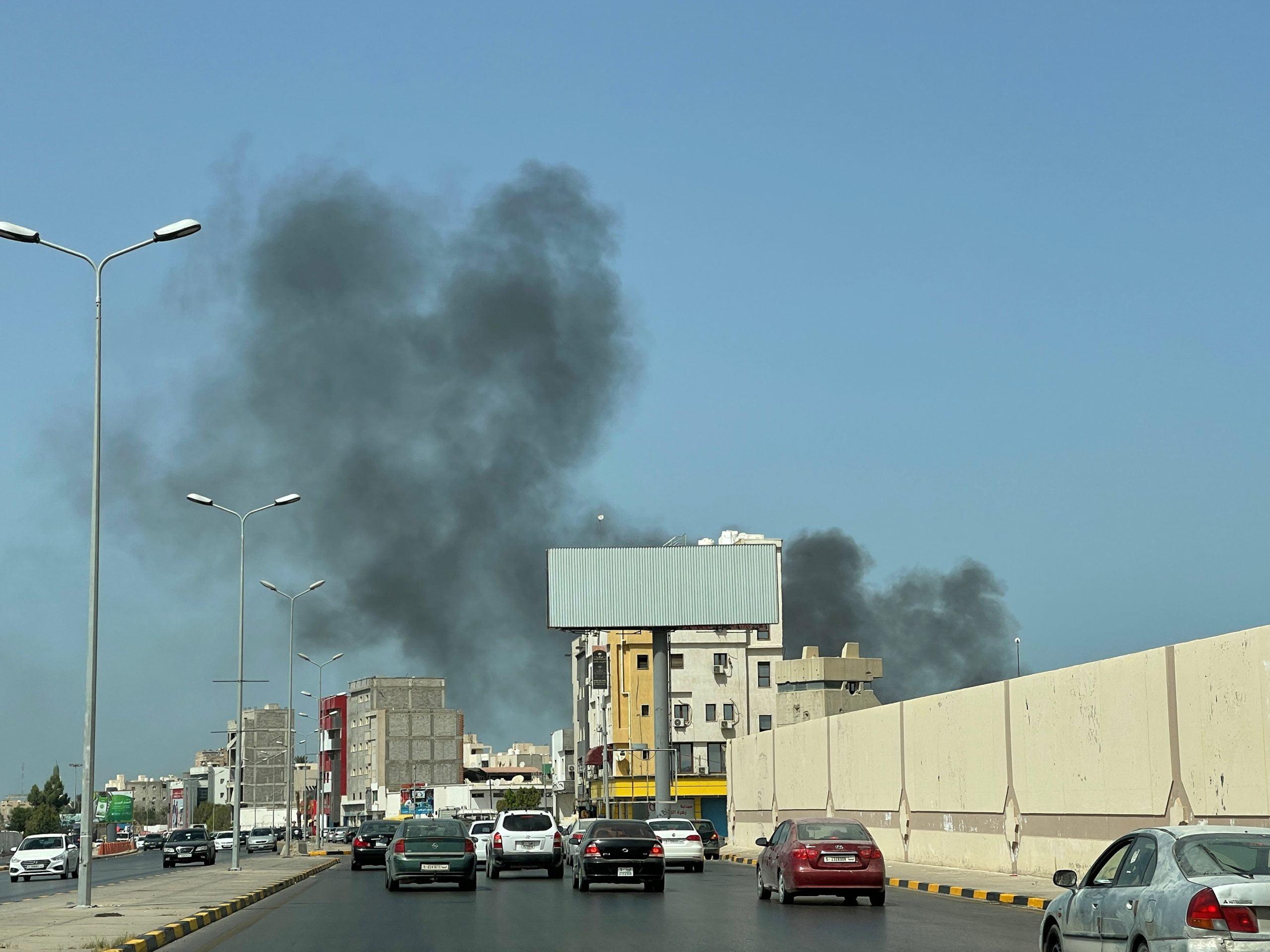 Τρίπολη της Λιβύης: Τμήματα Ασφαλείας του τουρκόφιλου Σαράζ, βάλουν με πυρά βαρέων όπλων εναντίον της 444ης Ταξιαρχίας