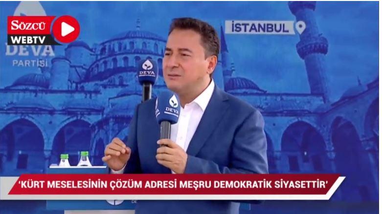 Αλί Μπαμπατζάν: Υπάρχει κουρδικό πρόβλημα στην Τουρκία