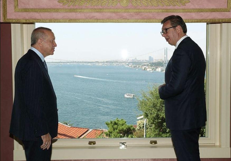 Βοσνία, καθεστώς στο Σάντζακ και Κοσσυφοπέδιο, ήταν τα θέματα της συνάντησης Ερντογάν- Βούτσιτς