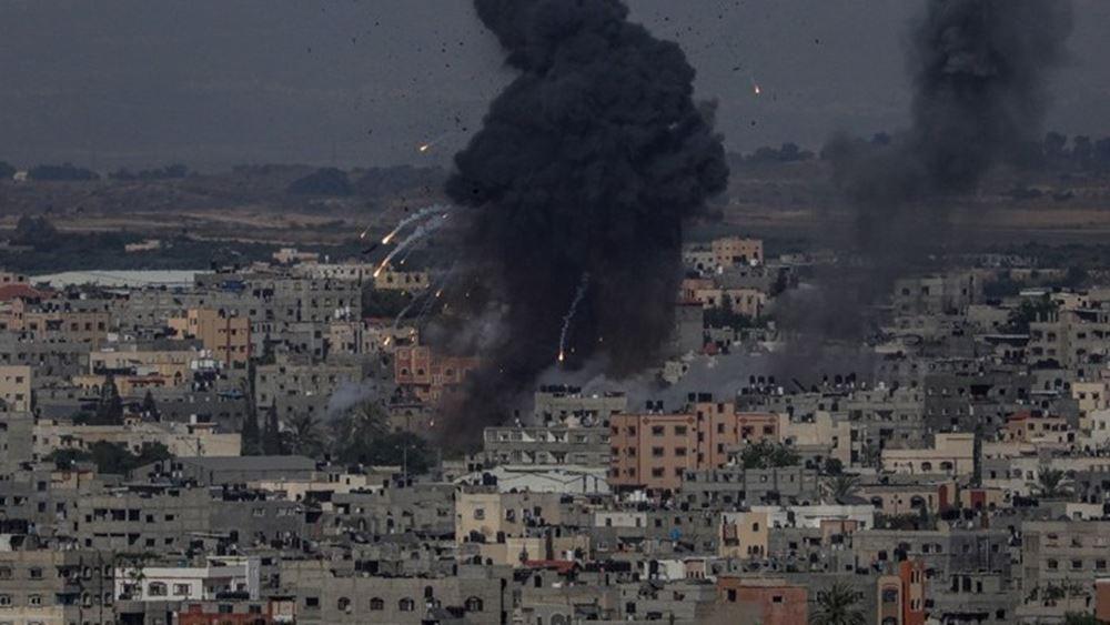 """Πλήγμα Ισραήλ στη Γάζα για τα """"μπαλόνια"""" της Χαμάς"""