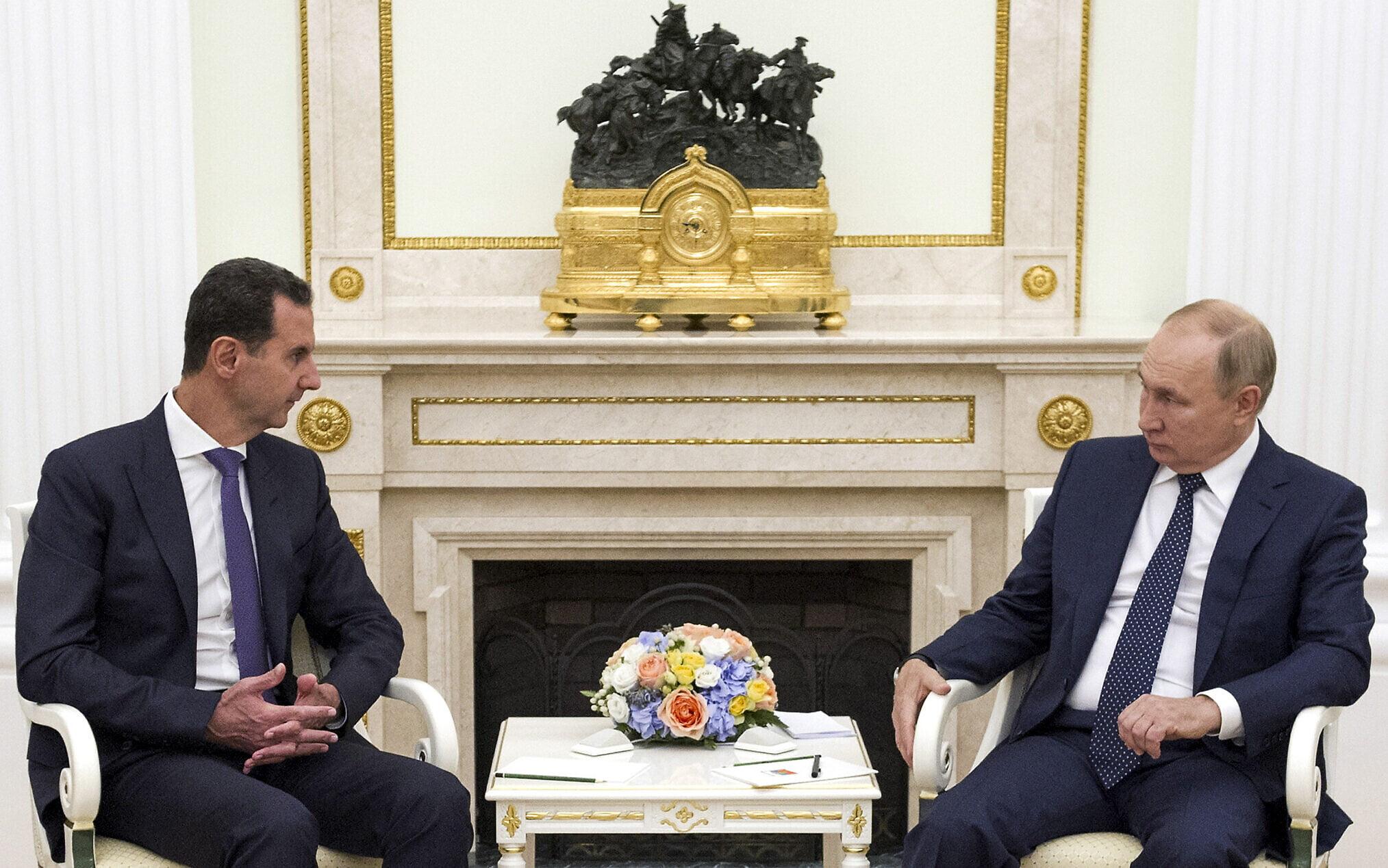 Επίσκεψη Άσαντ στη Μόσχα και συνάντηση με Πούτιν