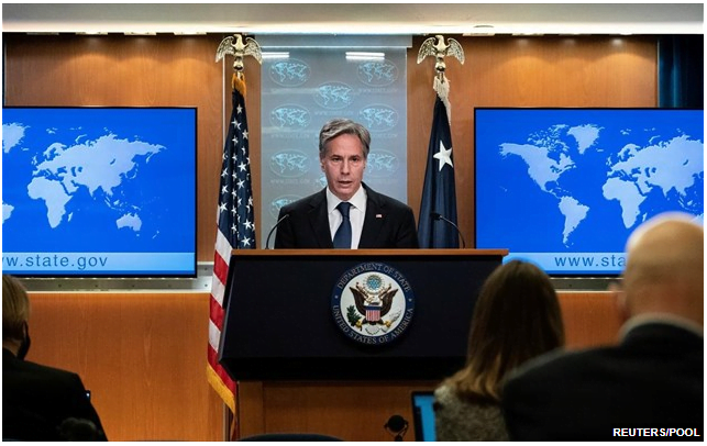 Μπλίνκεν: Θα επανεξετάσουμε τις σχέσεις μας με το Πακιστάν