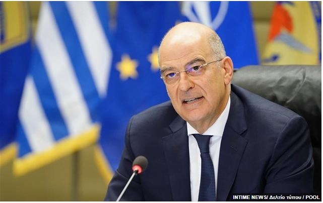 Ο Ν. Δένδιας ενημέρωσε τους ΥΠΕΞ της Ε.Ε. για την τουρκική πρόκληση στην Κρήτη