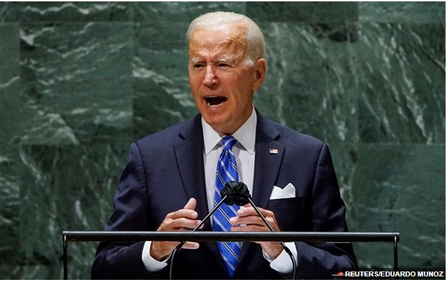 Ο Μπάιντεν στην Γ.Σ. του ΟΗΕ μίλησε για όλα