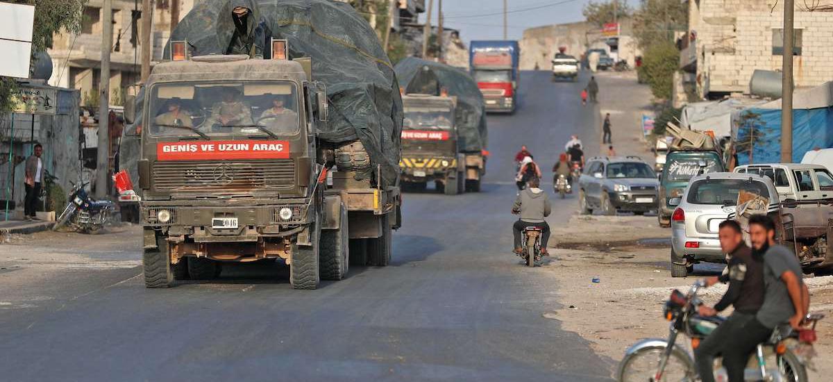 Reuters: Κλιμακώνεται η ένταση στο Ιντλίμπ … Η Τουρκία παίρνει θέση πολέμου στο Αφρίν