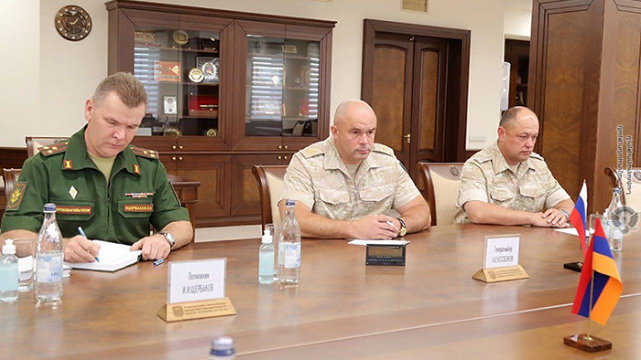 Στο Ερεβάν ο νέος διοικητής των Ειρηνευτικών Δυνάμεων της Ρωσικής Ομοσπονδίας στο Αρτσάχ