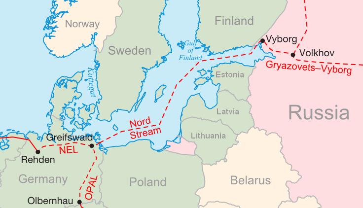 """Ολοκληρώθηκε ο αγωγός Nord Stream 2 που """"συνδέει"""" Βερολίνο και Μόσχα – Δεν τον ήθελαν οι ΗΠΑ"""