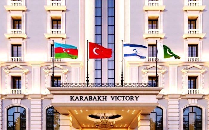 Charles Vanetsian: Οι σημαίες των χωρών που έχουν συνεργαστεί με το Αζερμπαϊτζάν