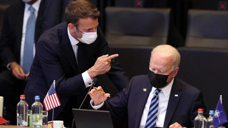 AUKUS: «Μασάζ» στη Γαλλία μετά τα αντίποινα – «Τρέχουν» να ηρεμήσουν τα πνεύματα ΗΠΑ και Αυστραλία